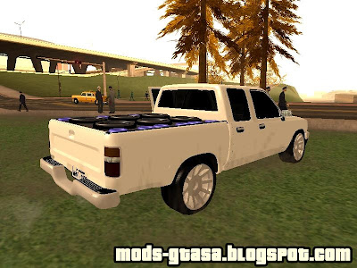 Toyota Hilux CD Edition v2 para GTA San Andreas