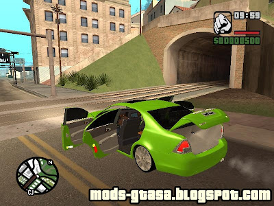Zetis Advanced Car Control para GTA San Andreas
