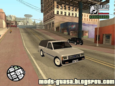Chevrolet S10 Short Bed para GTA San Andreas