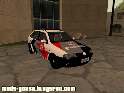 VW Gol G3 PM de SP para GTA San Andreas
