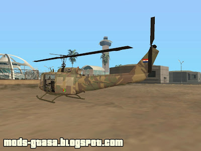 UH-1 do Exercito Paraguaio para GTA San Andreas