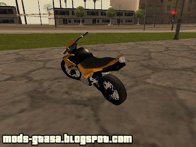 Honda Falcon Edit para GTA San Andreas