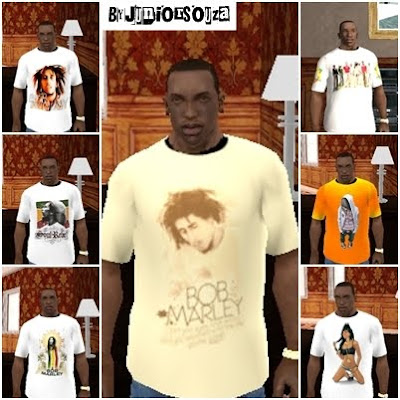Camisas By Junior Souza para GTA San Andreas