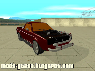 Vw Saveiro Arrancada para GTA San Andreas