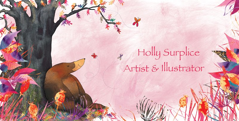 Holly Surplice ~ Illustrator