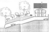Plànol del túnel inclòs en l'avanprojecte