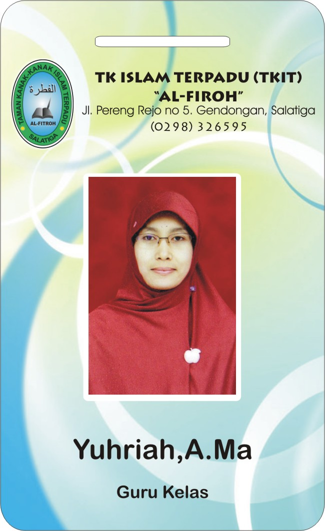 contoh ID CARD/NAME TAG