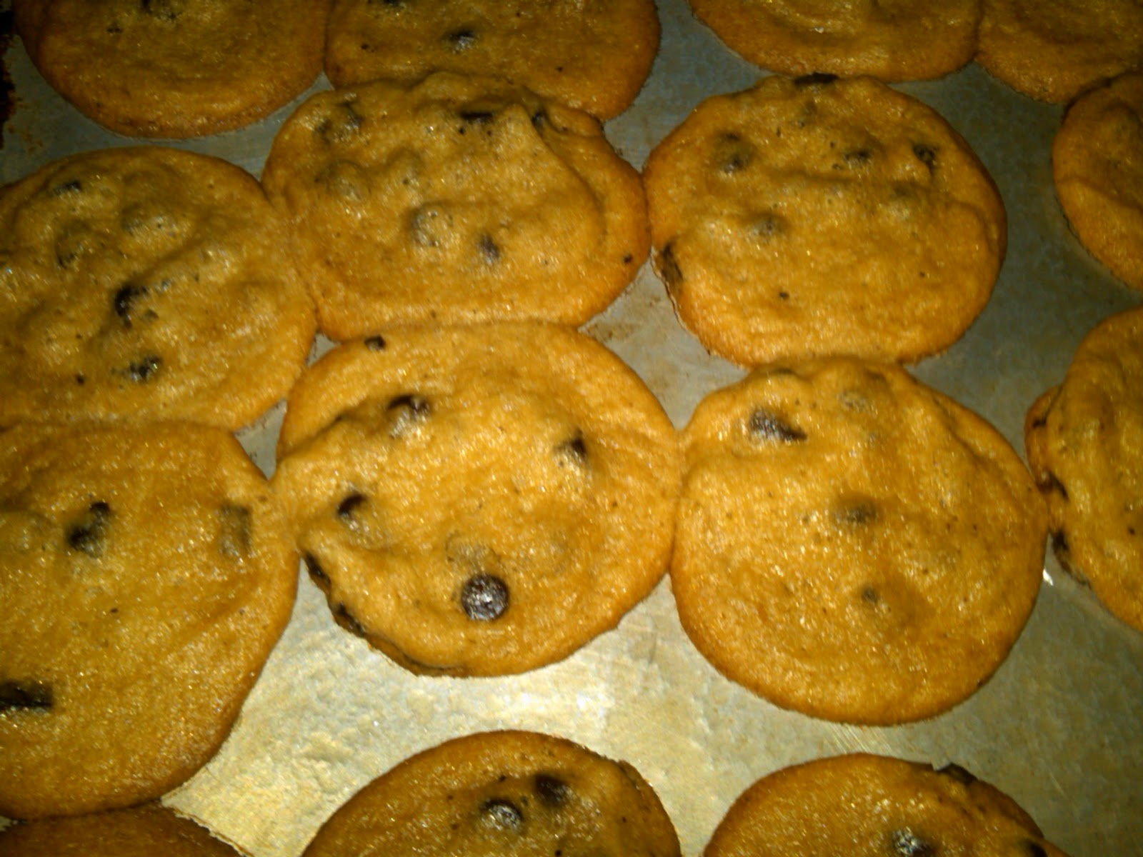 Cooking Divas: Homemade Chocolate Chip Cookies