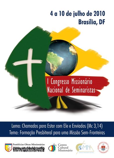 Congresso Missionário vai reunir 150 seminaristas em julho