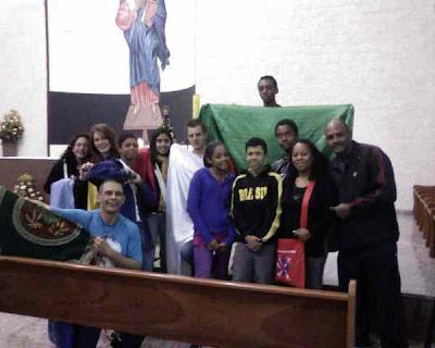 JM rezando pelo mundo inteiro na Festa da Padroeira do Brasil