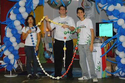 Lançamento Oficial da Juventude Missionária no DNJ em Uruaçu/GO