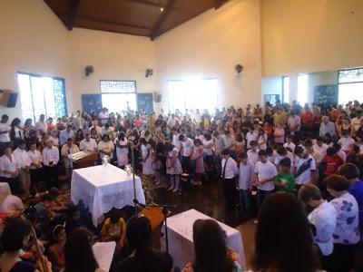 Dia Mundial das Missões em Franca/SP - 24/10/2010