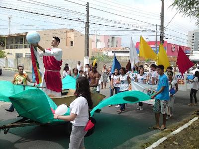 Animação do Mês Missionário em Alagoas