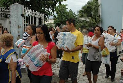 Igreja se mobiliza para ajudar vítimas das enchentes no Rio