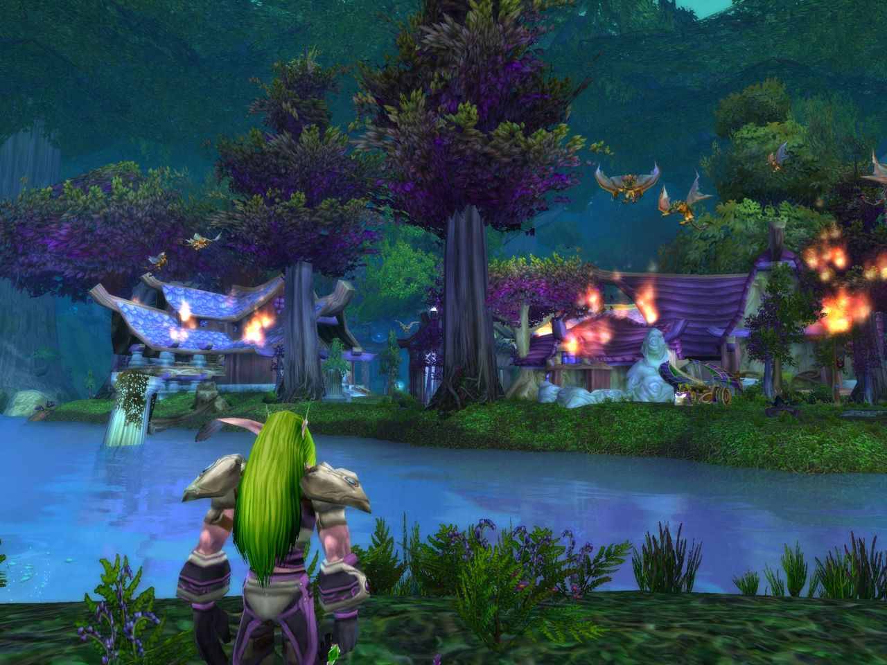World of warcraft cataclysm orc speach naked home lady