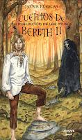 """Portada de """"Cuentos de Bereth II: La maldición de las musas"""""""