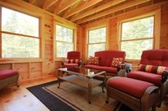 A wonderful 3-season cedar porch