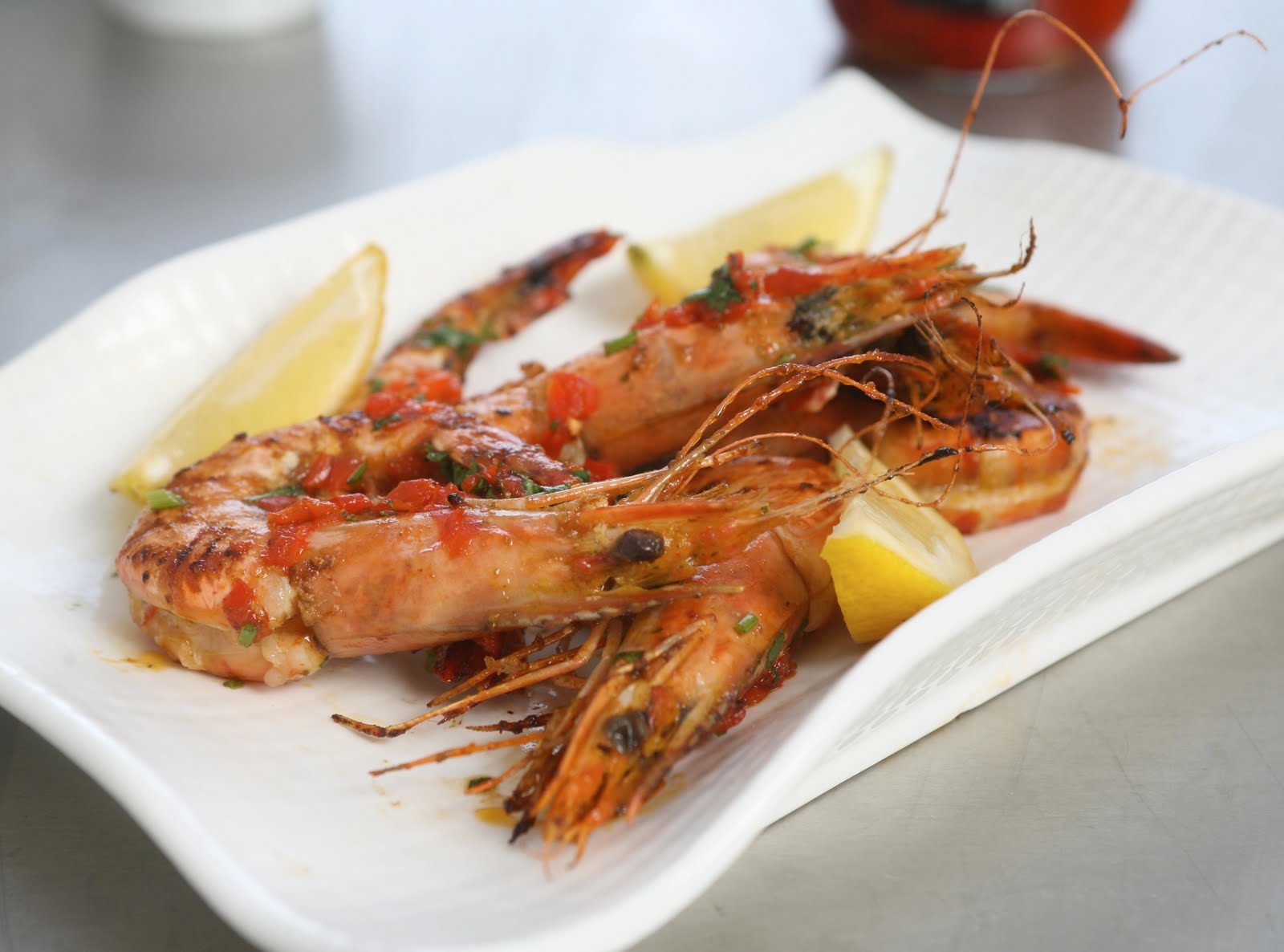 A Taste Of Portugal Prawns Piri Piri