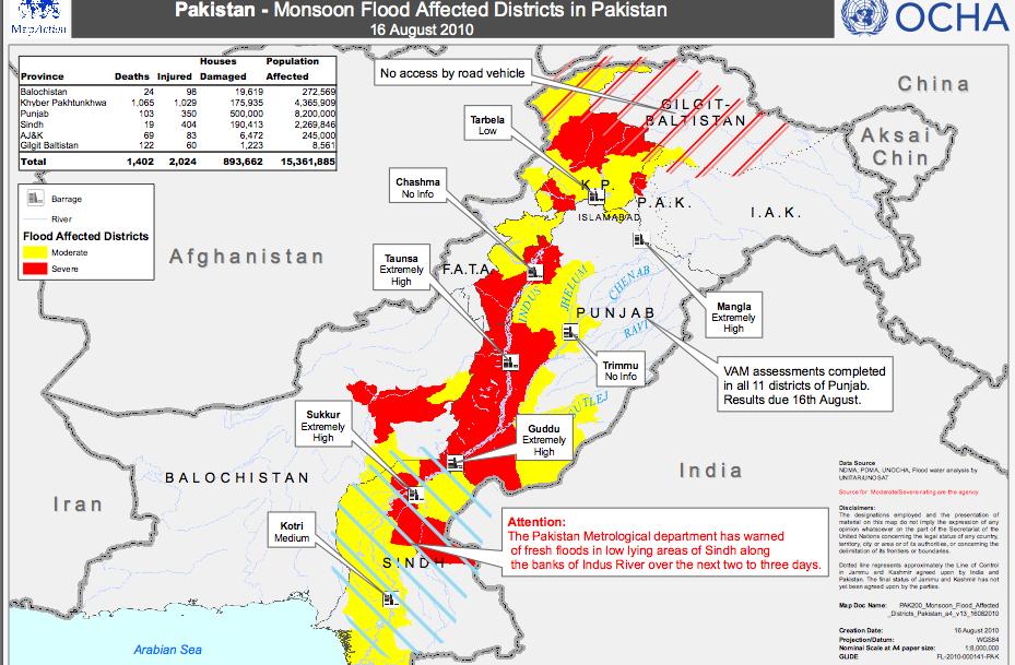 essay flood in pakistan 2010