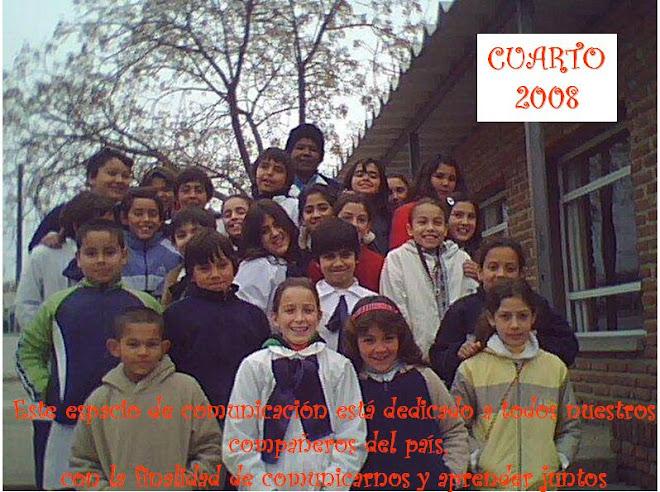 4° AÑO A ESCUELA 108