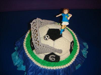 Soccer Cake 3D