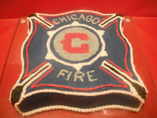Chicago Fire Cake
