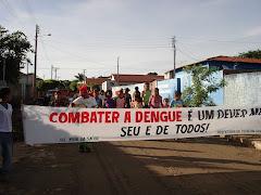 Segunda Caminhada de Combate ao Mosquito da Dengue.