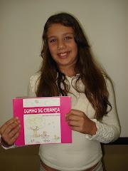 A mais nova escritora de Piracanjuba.