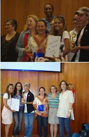 Premiação do nosso Blog em Goiânia.
