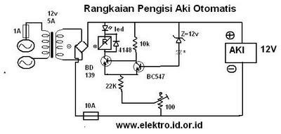 Download image Rangkaian Pengisi Aki Otomatis Gambar Skema Elektronika ...