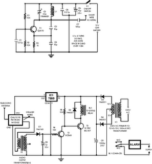 Crystal Radio Schematic Diagram likewise Am Radio Circuit as well Stable Fm Transmitter together with Bluetooth Receiver Schematic additionally Simplest Rf Transmitter. on fm transmitter receiver circuit