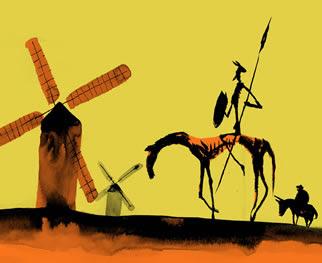 Cervantes y su hidalgo Don Quijote