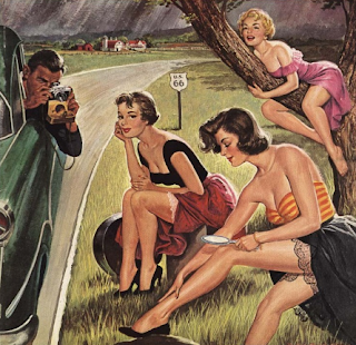 El glamour de los años 50