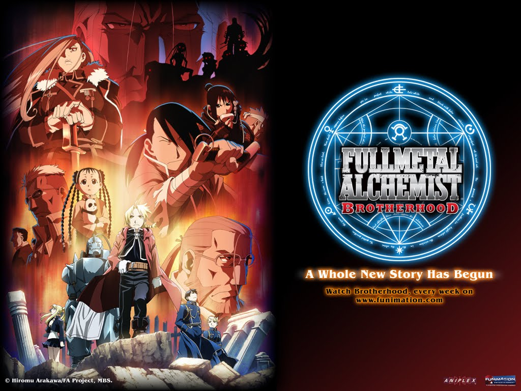 Full Metal Alchemist HD & Widescreen Wallpaper 0.677503632702527