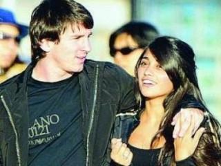 Antonella Roccuzzo, Lionel Andrés Messi,