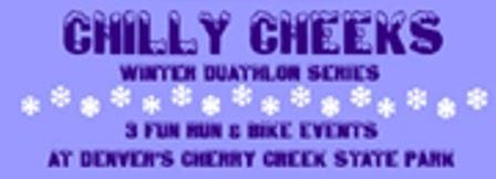 Chilly Cheeks Duathlon or 4 Mile Run Series #2