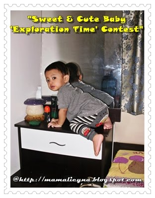 ~Sweet & Cute Baby 'Exploration Time' Contest~
