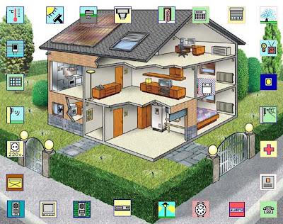 El nuevo mundo de la electronica la domotica for La casa domotica