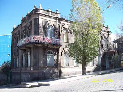 © Ara Sarafian Russian Era Building  Kars - This content Served From  http://armenians-1915.blogspot.com