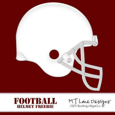 http://mtlanedesigns.blogspot.com/2009/05/football-helmet-freebie.html
