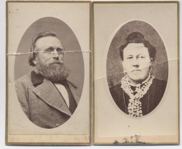 Hans Christian Davidson & Annie Maria Jensen Davidson