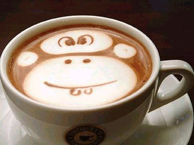 cup monkey business coffee