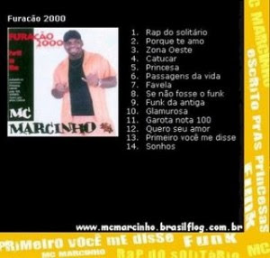 Cd MC Marcinho - Perfil Ao Vivo