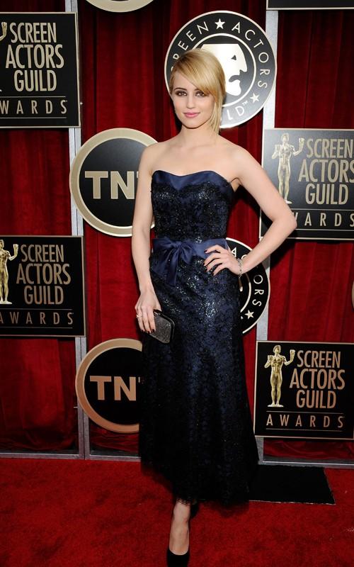 Dianna Agron Sag 2011. Dianna Agron in Chanel