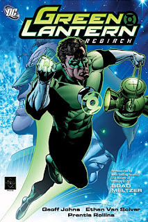 Review Green Lantern Rebirth Geoff Johns Ethan Van Sciver Hal Jordan DC Comics Cover trade paperback tpb comic book