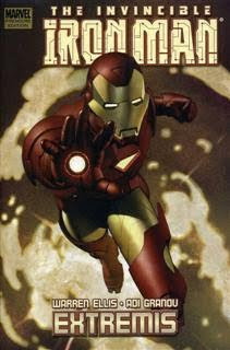 Review Iron Man Extremis Warren Ellis Adi Granov Marvel Cover Premiere Hardcover hc comic book