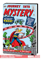 The Mighty Thor Omnibus Volume One Stan Lee Jack Kirby Marvel Solicitations September 2010 Cover hardcover hc comic book