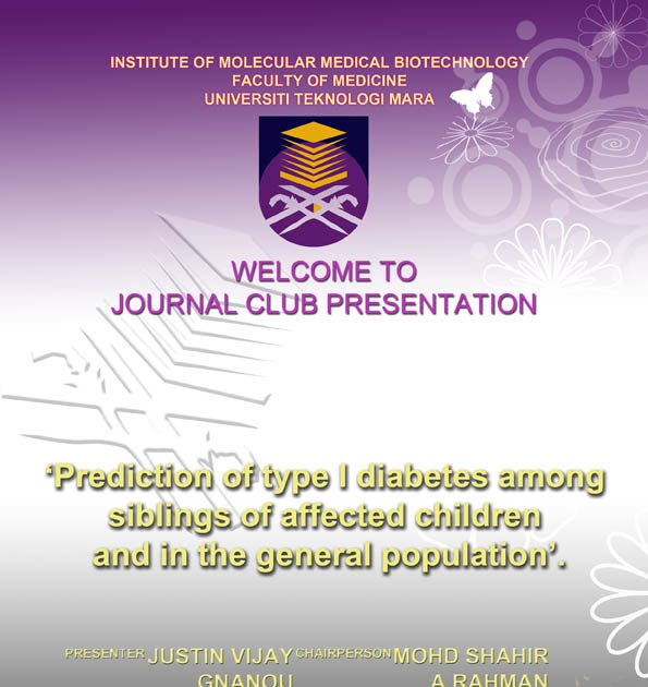 Immb faculty of medicine uitm invitation to journal club immb faculty of medicine uitm invitation to journal club presentation 18 march 2009 maxwellsz