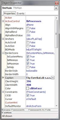 Delphi 2010 - сортировка инспектора объектов по именам