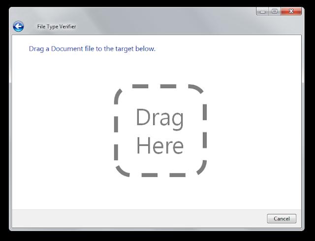 Снимок экрана, показывающий операцию drag and drop